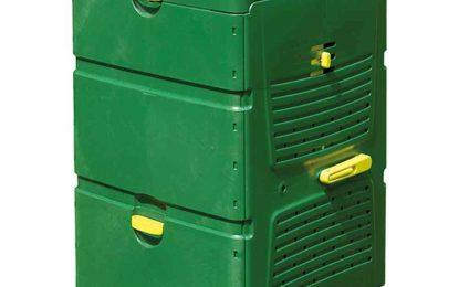 Juwel Komposter Aeroplus, grün, eckig